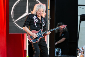 Brian May Celebs on 'Jimmy Kimmel Live'