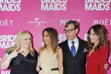 Rose Byrne Paul Feig 'Bridesmaids' Celebrity Girls Night Out