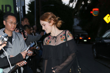 Bridgit Mendler Celebrities Are Seen at Chateau Marmont