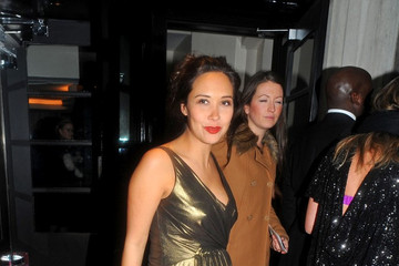 Myleene Klass British Fashion Awards 2010