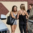 Brittany Cherry Celebs at 'Dancing with the Stars' Rehearsal