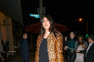 Brittny Gastineau Brittny Gastineau Outside Craig's Restaurant In West Hollywood