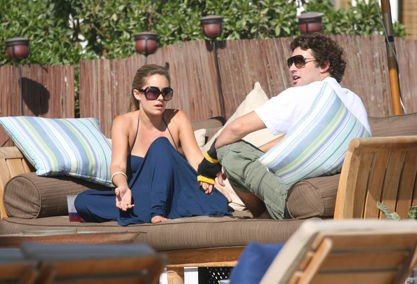 Lauren Conrad and Brody Jenner - 'The Hills' Fims on the Beach