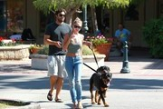 Brody Jenner and Kaitlynn Carter Walk the Dogs
