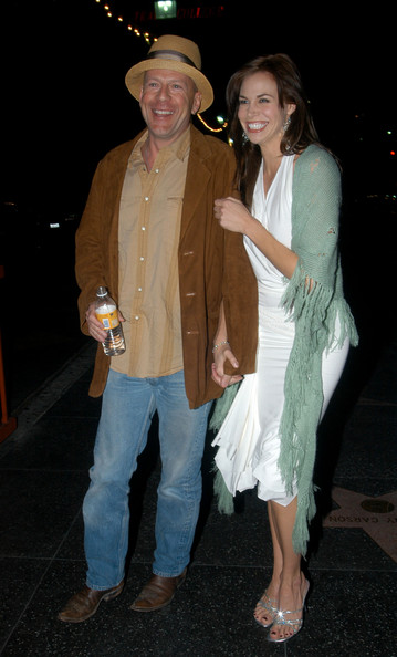 Brooke Burns and bruce willis
