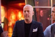 Bruce Willis Out in Hollywood