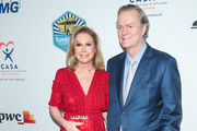 Kathy Hilton and Rick Hilton are seen attending the CASA of Los Angeles' 2018 Evening to Foster Dreams Gala at The Beverly Hilton Hotel in Los Angeles, California.