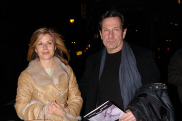 Michael Brandon CELEBS HAVE DINNER AT THE IVY IN LONDON