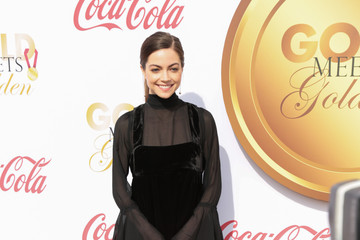 Caitlin Carver GOLD MEETS GOLDEN: The 5th Anniversary Refreshed by Coca-Cola, Globes Weekend Gets Sporty with Athletic Royalty