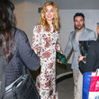 Caitlin Fitzgerald Aidan Turner Leaves The ArcLight Theatre In Hollywood