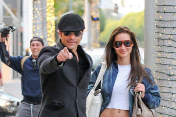 Caitlin McHugh John Stamos shops with girlfriend Caitlin McHugh