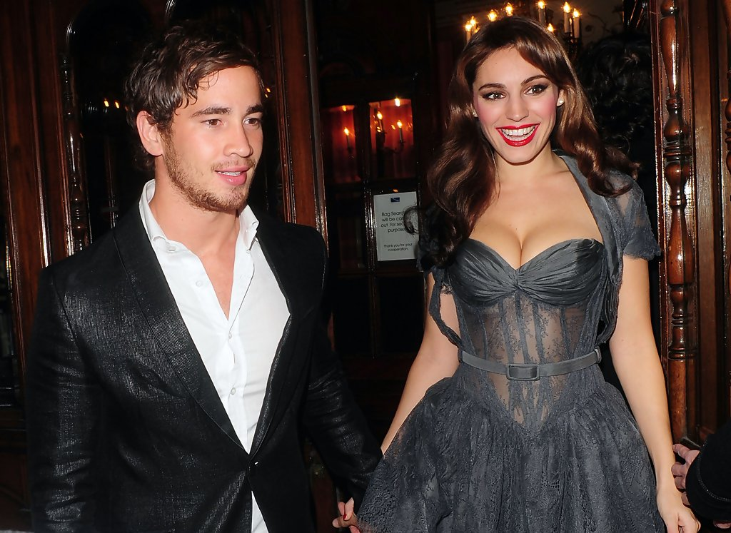 kelly brook and danny cipriani photos photos kelly brook and danny cipriani leave a theater zimbio