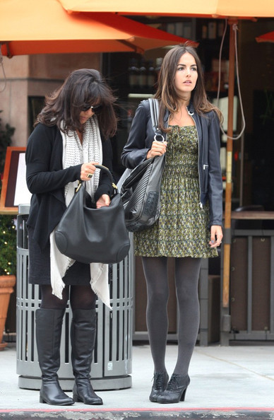 Camilla Belle mother