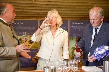 Camilla Parker Bowles Royal Visit to Scilly Isles