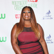 Candice Glover Celebrities Attend the 84th Annual Hollywood Christmas Parade