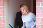 Candy Spelling is seen out running errands on December 14, 2015.