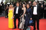 Celebs arrive at the 'Young and Beautiful' premiere at the 66th Annual Cannes Film Festival.
