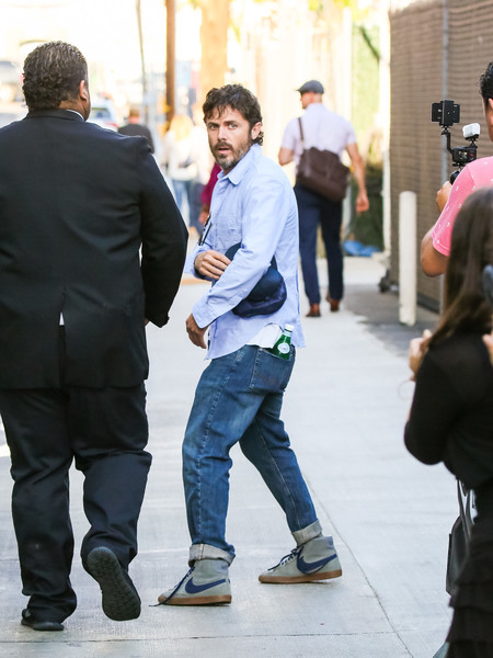 Casey Affleck At 'Jimmy Kimmel Live'