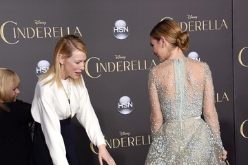 Cate Blanchett 'Cinderella' Premieres in Hollywood