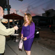 Catherine Bach Catherine Bach Outside Craig's Restaurant In West Hollywood