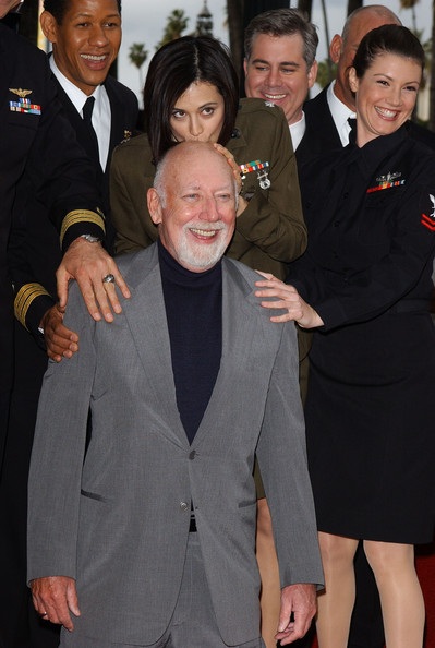 David Bellisario http://www.zimbio.com/photos/Catherine+Bell/Donald+P.+Bellisario