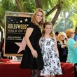 Catherine Rose Young Cheryl Hines Honored on the Walk of Fame