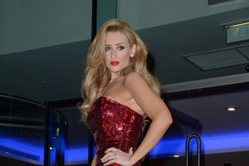 Catherine Tyldesley Celebs Leave the Annual Mirror Ball