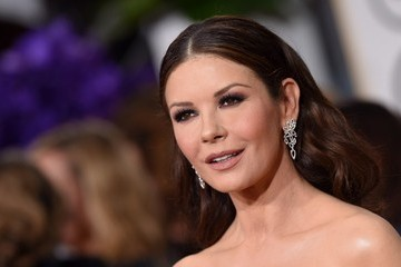 Catherine Zeta-Jones Arrivals at the Golden Globe Awards