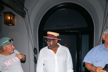 Cedric the Entertainer Cedric The Entertainer Is Seen Outside Craig's Restaurant In West Hollywood