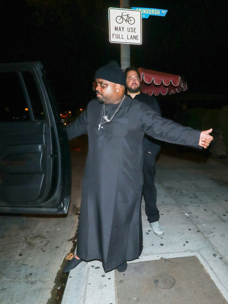 CeeLo Green Outside Delilah Nightclub In West Hollywood