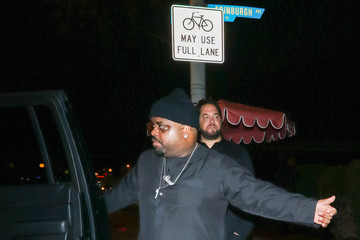 Cee-Lo Green CeeLo Green Outside Delilah Nightclub In West Hollywood