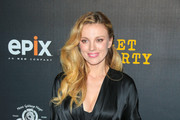 Bar Paly is seen arriving for the Red Carpet Premiere of EPIX Original Series 'Get Shorty' held at Pacfic Design Center in Los Angeles, California.