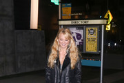 Charlotte Ross is seen attending the premiere of 'Fifty Shades of Black'.