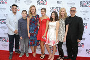 Sadie Robertson and Korie Robertson are seen attending the premiere of Pure Flix Entertainment's 'God's Not Dead 2' at Directors Guild Of America.