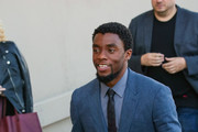 Chadwick Boseman Makes an Appearance on 'Jimmy Kimmel Live'