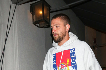 Chandler Parsons Chandler Parsons Outside Craig's Restaurant