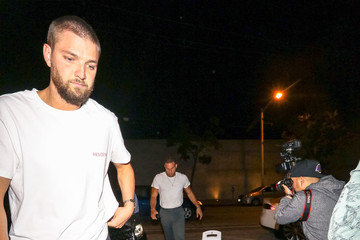 Chandler Parsons Chandler Parsons Outside Craig's Restaurant In West Hollywood
