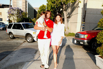 """Donovan Hardy Charisma Carpenter and Her Family at the """"Lola Party"""""""