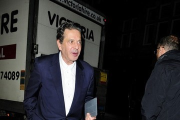 Charles Saatchi Charles Saatchi and Trinny Woodall Out to Dinner