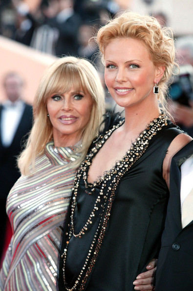 "Britt Ekland and Charlize Theron - Premiere of ""The Life and Death of Peters Sellers"" at Cannes"