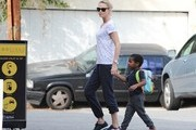 Charlize Theron and Jackson Out in LA