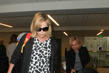 Charlize Theron Charlize Theron Is Seen at LAX