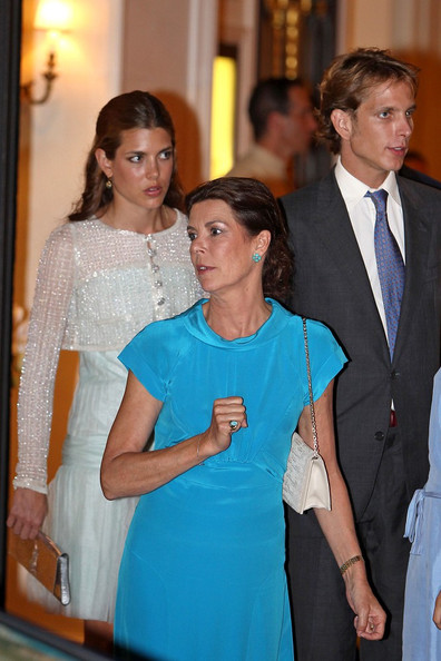 Charlotte Casiraghi and Princess Caroline Photos Photos - Monaco ...