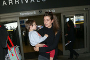 Charlotte Casiraghi at LAX