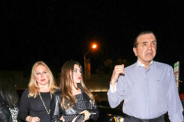 Chazz Palminteri Chazz Palminteri Outside Craig's Restaurant In West Hollywood