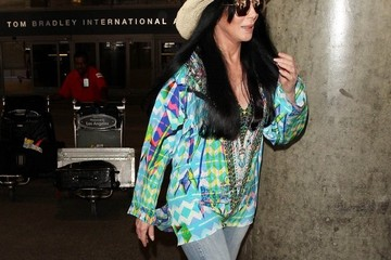 Cher Cher Goes Incognito at LAX