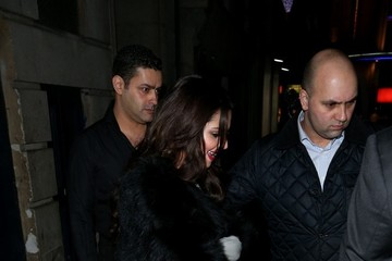 Cheryl Cole Cheryl Cole and Tre Holloway Leave Dinner