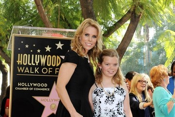 Cheryl Hines Catherine Rose Young Cheryl Hines Honored on the Walk of Fame