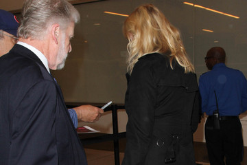Cheryl Tiegs Cheryl Tiegs Spotted at LAX