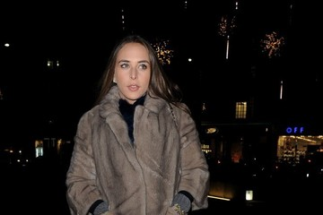 Chloe Green Celebs Attend the Saatchi Gallery